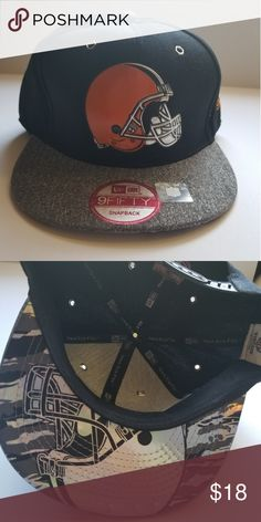 a402ce9a9 NFL Cleveland BROWNS New Era 9fifty Snapback New with tags 9fifty snapback  30% acrylic 70
