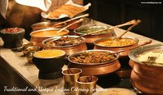 Traditional and Unique Indian Catering Services #Food #weddingfood
