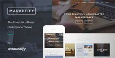 Download and review of Marketify - Digital Marketplace WordPress Theme, one of the best Themeforest eCommerces themes