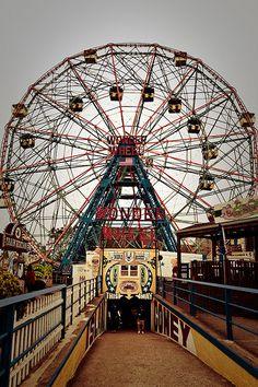 Wonder Wheel - Coney Island Brooklyn New York With #TravelSavvyTours2015