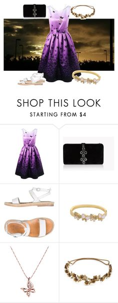 """""""sunrise"""" by mae-peaches ❤ liked on Polyvore featuring Dsquared2, n.d.c. and Jennifer Behr"""