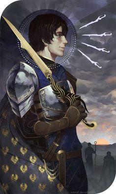 Or Will Battle Rage On by katorius - Dragon Age: Origins, Arcane Warrior
