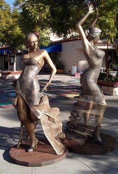 Flamenco Sevillanas in Spanish Village Courtyard