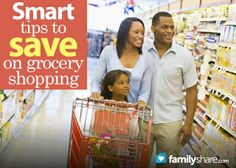 Tips on how to save money grocery shopping...