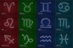 Glamour Zodiac sign design by Sunshine Art Shop on @creativemarket