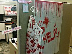 halloween at the office hallowen cubicle halloween work