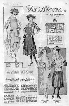 May 1921 Fashion