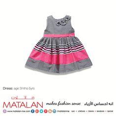 Dress: age 3mths-5yrs  www.matalan-me.com  #Matalanme #Dress #Kids #Trend #GoodQuality #GreatPrice #MakesFashionSense #AlBarakaMall #ArabianCentre #DalmaMall #LamcyPlaza #MushrifMall #CenturyMall #MirdifCityCentre #SaharaCentre #GalleriaMall #Gulfmallqatar #ALGhurairCentre #KhalidiyahMall #BahrainCityCentre #RAKMall #WafiMall #AlFoahMall #MarkazAlBahja #Omanavenuesmall #MeccaMall