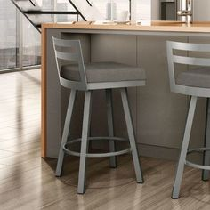 "You'll love the Caudillo 26.75"" Swivel Bar Stool at Wayfair - Great Deals on all Furniture  products with Free Shipping on most stuff, even the big stuff."