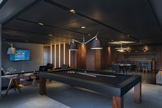 Decorating a Game Room Man Cave Room, Man Cave Home Bar, Futuristisches Design, House Design, Design Ideas, Modern Man Cave, Pool Table Room, Home Cinema Room, Game Room Basement