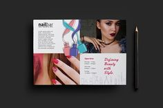 Nail Bar Flyer Template v2 by BrandPacks on @Graphicsauthor
