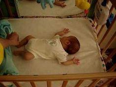 sleeping moro reflex  .... moro reflex is normal in newborns; it is NOT normal in older babies/children but it can be remediated