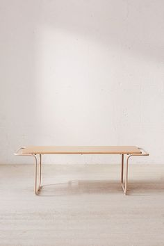 Slide View: 2: Carlton Wooden Coffee Table