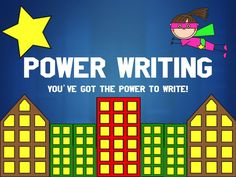 This PowerPoint provides students with every step in the writing process with intriguing mnemonics, fun videos, foldables, and treats! Plus, there's a fun Super Hero theme that every student is sure to enjoy. This PPT aligns well with Common Core State Standards, SRSD writing strategies, 6 Traits of Writing, and POW TIDE. This PowerPoint addresses the components of Informative Writing. This is PERFECT for any teacher looking to start their little authors off on the right foot. $3.00