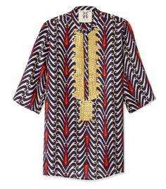 Shop featured designer Figue on #ShopBAZAAR - Figue Jasmine Caftan
