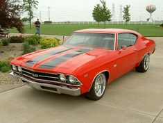 1969 Red Chevelle SS