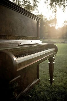 She had a beautiful piano... Which is currently being restored.  It will look beautiful in my home and bring back many memories.