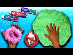 How to make slime with only 2 ingredients no liquid starch glue how to make dish soap slime giant fluffy slime without shaving cream borax baking soda detergent ccuart Images