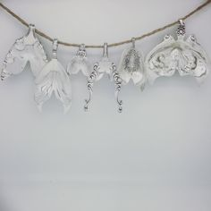(5) Not So Flatware - Sterling silver Mermaid tails made from sterling...