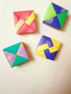 Modular Origami Box: with lid