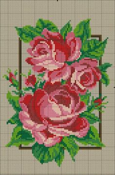 Beginning Cross Stitch Embroidery Tips - Embroidery Patterns Folk Embroidery, Cross Stitch Embroidery, Embroidery Patterns, Cross Stitch Charts, Cross Stitch Designs, Cross Stitch Patterns, Beaded Cross, Cross Stitch Flowers, Christmas Cross