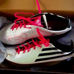 New soccer cleats! Adidas F50 adizero sprint frame!!!!