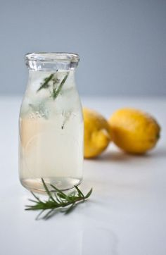 #honey soda water #lemons #water