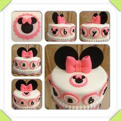Minnie Mouse baby shower cake www.facebook.com/cakeitorleaveitcakesbymarianne