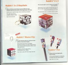cubes and pens wil help to advertise and make your mind intellectual..