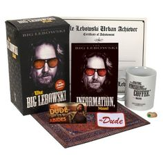 The Big Lebowski Kit: I want this JUST for that mug.