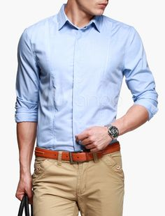 #Milanoo.com Ltd          #Dress Shirts             #Solid #Color #Spread #Neck #Long #Sleeves #Viscose #Polyester #Business #Casual #Man's #Dress #Shirt   Solid Color Spread Neck Long Sleeves Viscose Polyester Business Casual Man's Dress Shirt                                          http://www.snaproduct.com/product.aspx?PID=5754257