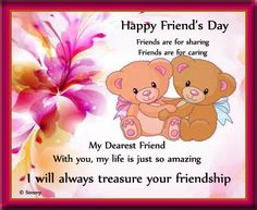 Share your Love with the friends who share & friends you care with this #Cute #Ecard. www.123greetings.com