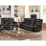 Acme Furniture - Noah 2 Piece Bonded Leather Motion Sofa Set in Espresso - 50830-S+L