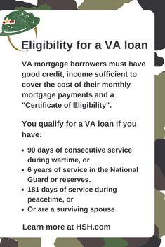 Know the benefits of #VAloans, understand the eligibility requirement of VA loans, advantages, VA loan limits & compare different VA rates offered by lenders. #mortgage