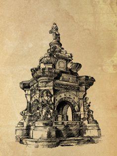 Big Ben, Fountain, Flora, Heart, Travel, Water Well, Plants, Viajes, Water Fountains