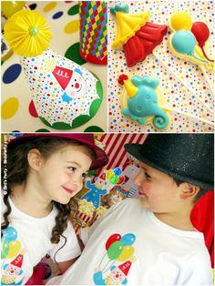Partes real: Big Top fiesta de cumpleaños del circo Mis Bebés! by Bird's Party