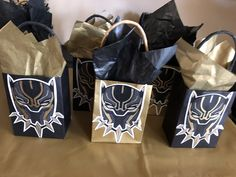 Black Panther Treat Bags