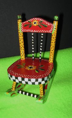 funky furniture and stuff. minihand painted rocking chair funky furniture and stuff s