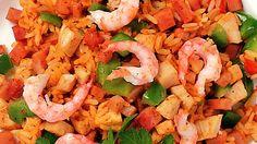Jambalaya: Tämä kreolilainen, paellaa muistuttava ruoka on kuulemma kotoisin New Orleansista. Sanan arvellaan viittaavan ranskalaiseen sanaan jambon, eli kinkku. Riisin lisäksi jambalayaan voi käyttää lähes mitä tahansa aineksia, esimerkiksi kanaa, äyriäisiä, mausteisia makkaroita ja erilaisia vihanneksia – siis mitä kotoa sattuu löytymään.