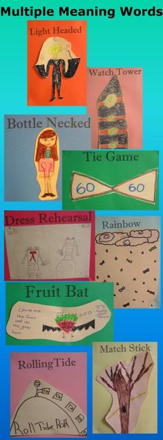 Multiple Meaning Words Activity from The Dark is Rising