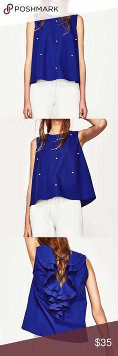 Zara top Brand  new with tag Zara Tops