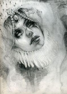 Michael Hussar Original Drawing (graphite on paper)