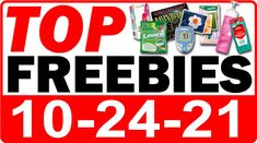 ►► FREE Tide Detergent + MORE Top Freebies for October 24, 2021 ►► #Free, #FREESample, #FREEStuff, #Freebie, #Freebies, #Frugal, #Samples, #Sunday, #SundayBrunch, #SundayFunday, #SundayMorning, #SundayVibes ►► Freebie Depot
