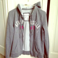 I just discovered this while shopping on Poshmark: Aeropostale Hoodie (ladies). Check it out! Price: $10 Size: L, listed by lilsailor85
