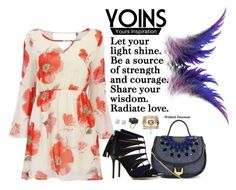 """10. Use your wings"" by gabyidc ❤ liked on Polyvore featuring Matthew Williamson, ALEXA WAGNER, Glitzy Rocks and yoins"