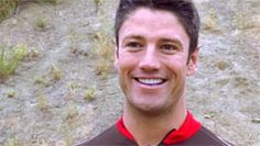 James Scott training for a triathalon - how good looking is he ?!!