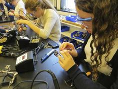 Dive into the maker movement and learn about maker spaces and fabrication labs for K-12.