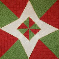 Happy Quilting: The Christmas Star Quilt Block Tutorial