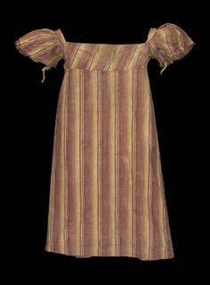 Boy's dress American, about 1836 United States DIMENSIONS 61 x 55 cm (24 x 21 5/8 in.) MEDIUM OR TECHNIQUE Cotton print and linen tapes CLAS...