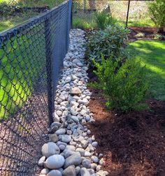 Drains - John Darby Landscape, Inc. River Rock Landscaping, Landscaping Jobs, Landscaping Company, Landscaping With Rocks, Front Yard Landscaping, Rock Drainage, Backyard Drainage, Landscape Materials, Landscape Design